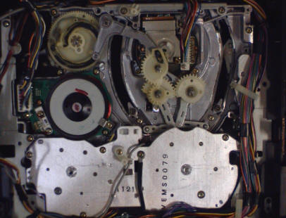 Panasonic Chassis, Bottom View