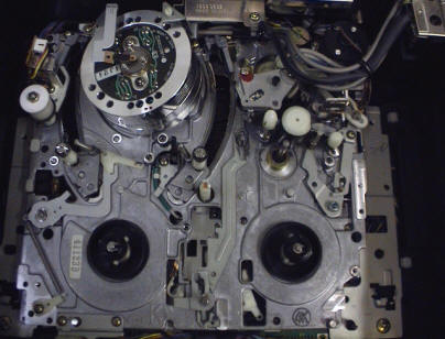 Panasonic Chassis, Top View
