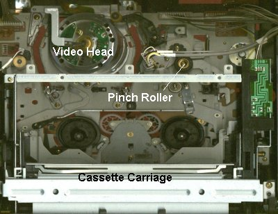 Sony Chassis, Top View